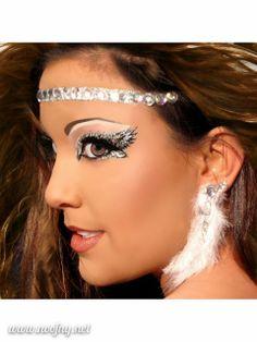 Xotic Eyes Angelic Glitter Professional Eye Make up Costume Accessory Halloween Makeup Kit, Beauty Makeup, Hair Makeup, Hair Beauty, Makeup Ideas, Halloween Make Up, Halloween Costumes, Halloween Ideas, Adult Costumes