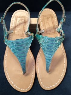 Via Capri, 34 is a luxury line of custom handmade sandals from Capri. Via Capri, 34 is located in Palm Beach on Worth Avenue. Different Styles, Snake Skin, Leather Sandals, Footwear, Pasta, Womens Fashion, Handmade, Shoes, Hand Made