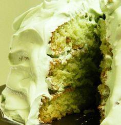 Pistachio Pudding Cake recipe by Orson H. Gygi