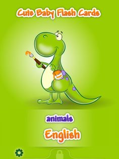 Cute Baby Flash Cards, By United Worx Ltd $1.99**Cute baby flash cards app is specially designed for your little ones and is suitable for 6-month-old to 3-year-old babies. Supports English, Spanish, French, German, Italian, Greek, Russian, Portuguese, Chinese and Japanese. Just drag the language left or right to change it on the menu screen.**