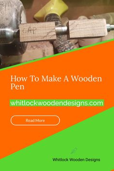 Big Pen, Pen Blanks, Pen Turning, Rollerball Pen, Woodturning, Pens, Perspective, Writing, How To Make