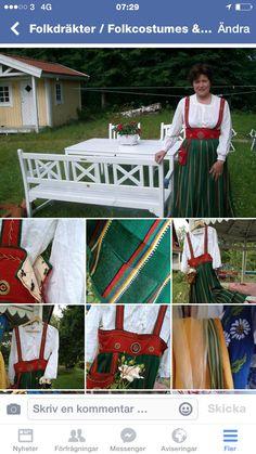 Min finska dräkt detaljer och lagningar Orimattilla