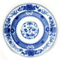 Mottahedah Imperial Blue fine china