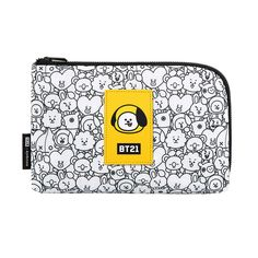 91e2b07eb22c  BTS BT21  Bangtan CHIMMY Official Portable Cosmetics Travel Cable Pouch Bag  케이블