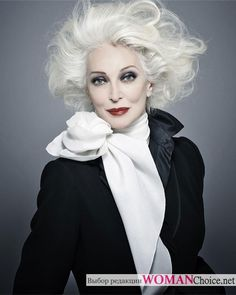 83-летняя модель Кармен Делль'Орефайс