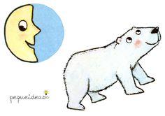 La luna está triste (2) Winnie The Pooh, Disney Characters, Fictional Characters, Diy, Ideas, Paper, Shadow Theater, Templates, Sad