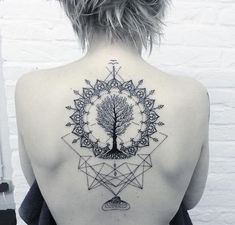 Tree Of Life Mandala Tattoo Tree of life tattoo with mandala