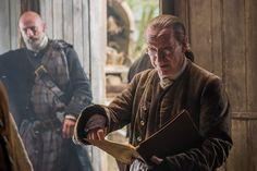 Outlander - Ned Gowan and Dougal MacKenzie