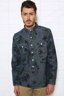 Levi's Natoma print shirt from @Urban Outfitters - £40 #RunwayRepublic