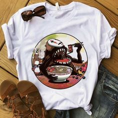 [shortdesc]Get your ramen on in our newest t-shirt designed with love from us to you! Comfortable, casual and loose fitting, our heavyweight t-shirt will ea. Cool Tee Shirts, Cheap T Shirts, New T Shirt Design, Shirt Designs, Studio Ghibli Shirt, Estilo Hip Hop, Couture, Look Cool, Shirt Style