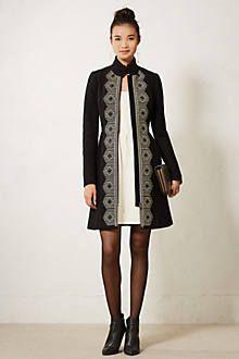 Shimmer Stripe Dress Topper - anthropologie.com