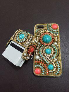 Kit carimbo e capa de celular by adrinnin