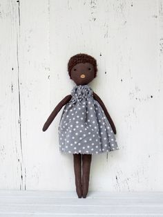 Cloth doll handmade one of a kind/ Anette by lespetitesmainsS