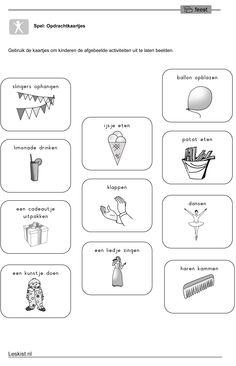 Werkblad Uitbeelden School Items, Ipa, Teaching, Carnival, Coral, Pirates, Learning, Education