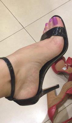 Stilettos, Strappy High Heels, Black High Heels, Ankle Strap Heels, High Heel Boots, Stiletto Heels, Pantyhose Heels, Stockings Heels, Beautiful High Heels