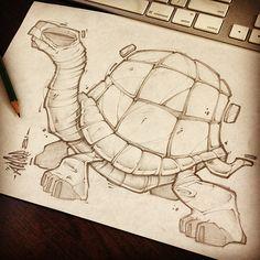 Random sketches from my lunch breaks. Cartoon Drawings, Animal Drawings, Cartoon Art, Cool Drawings, Drawing Sketches, Sketching, Graffiti Art, Graffiti Drawing, Biomech Tattoo