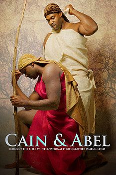 """Cain & Abel ~Noire Icons of the Bible by James C. Lewis, International Photographer ~ """"How might Biblical characters really look? Afro, Blacks In The Bible, Black Hebrew Israelites, Cain And Abel, Black Jesus, Atlanta Photographers, Biblical Art, Thing 1, Adam And Eve"""