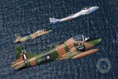RNZAF Strikemaster and Vampire aircraft