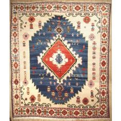New Contemporary Persian Serapi Area Rug 42151 - Area Rug area rugs