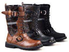 Vintage Punk Boots