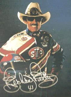 Richard Petty I miss the cowboy hat and lit cigarette in the mouth Nascar and it was not hid from the cameras.