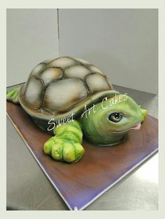 Cut out turtle.