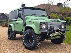 Defender in green