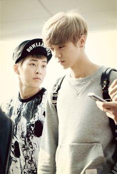 xiumin and luhan ~ #exo