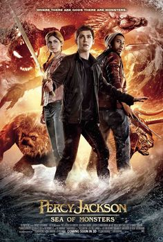 Movie Review: PERCY JACKSON: THE SEA OF MONSTERS | rating: 4 out of 5 | http://www.cherrydragon.net/2013/08/movie-review-percy-jackson-sea-of.html