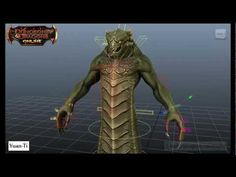 Character Rigging Reel - Dungeons & Dragons Online - YouTube