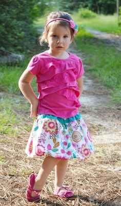 Bubble Skirt PDF pattern and tutorial
