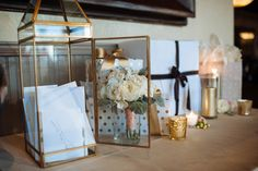 How cute is this card box? Photograph by Erika Rose Photography