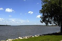 Mississippi River, Moline, IL