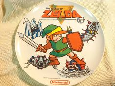 - At my house the dinner plates have always been the plain solid-white glass that made me fill my plate more just to cover up its boring surface. Smart Kitchen, Kitchen Tools, Kitchenware, Tableware, Geek Games, Wind Waker, My Plate, Twilight Princess, Legend Of Zelda