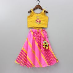 Pre Order: Backless Choli And Lehenga Set Cute Baby Dresses, Dresses Kids Girl, Kids Outfits, Girls, Kids Ethnic Wear, Indian Ethnic Wear, Silk Kurti Designs, Blouse Designs, Indian Outfits