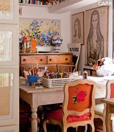 Home Tour: um apartamento Boêmio Chic cheio de história em São Paulo