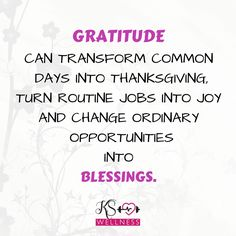 ⚡Stay blessed and happy by showing gratitude! #happysunday #gratitude #love #KSwellness #determination #lifestyle