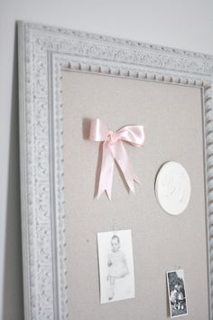 Julie Blanner KC Wedding Planner | Entertaining Design DIY Home and Decorating Blog: Shabby Chic Pinboard