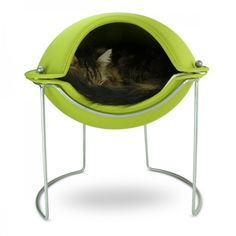 Another cat bed my cat will never use!! But so cute :D Hepper POD Green - hardtofind.