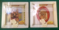 Two boxes of 6 doggie theme cards.