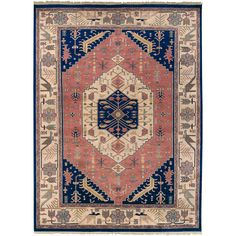 Hand-knotted Adana Semi-worsted New Zealand Wool Rug (8' x 11') | Overstock.com Shopping - The Best Deals on 7x9 - 10x14 Rugs