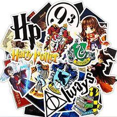 30 Stickers Harry Potter Autocollants Muraux Auto Valises Bagages Ordinateur PC