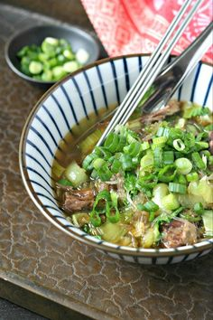 A delicious bowl of low carb kelp noodle soup in minutes! I first discovered Kelp Noodles a number of years ago. They are freaking awesome but I somehow kinda s