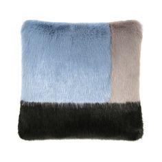 Helen Moore - Deco Cushion - Powder Blue