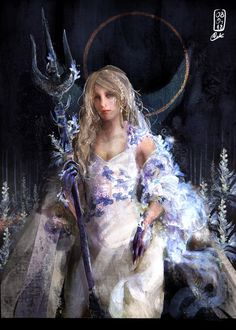 I managed to finish my master degree, so now I'm able to share my work with you again :) this time it's my interpretation of Amanos version of Lunafreya! (The one on the Royal Edition cover of FFXV) I actually started with a. Noctis Final Fantasy, Final Fantasy Type 0, Final Fantasy Characters, Fantasy Series, Female Characters, Fantasy Women, Fantasy Girl, Cg Artwork, Shining Star