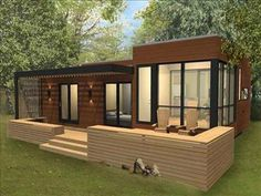 Image result for small modern prefab homes