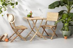 whkmp's own bistroset Santos, Naturel Outdoor Furniture Sets, Decor, Furniture, Outdoor Decor, Outdoor Furniture, Chair, Home Decor, Butterfly Chair, Furniture Sets