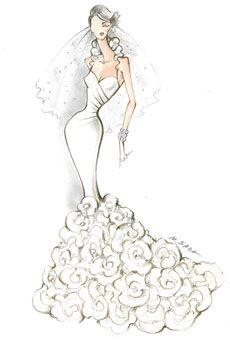 Fashion Design Dress Sketches Designer Sketch by Pronovias