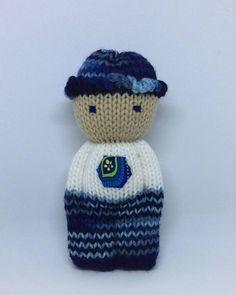Poupée réconfort Poupée tricotée Cadeau bébé Amigurumi