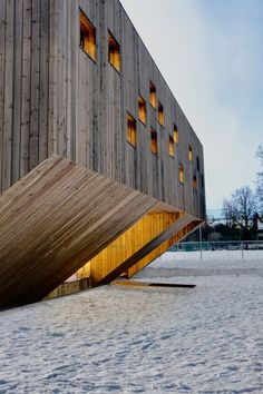 Kindergarten Fagerborg Oslo by Reiulf Ramstad Architects